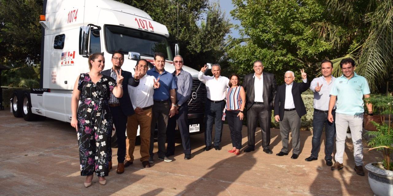Recibe STI México 100 camiones Volvo GHG