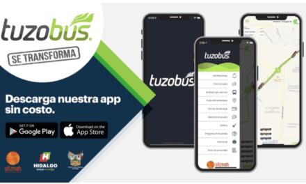 Actualizan aplicación móvil del Tuzobús