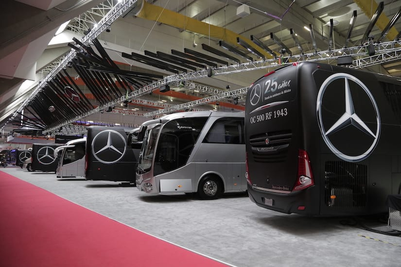 Demuestra Mercedes-Benz su liderazgo en autobuses