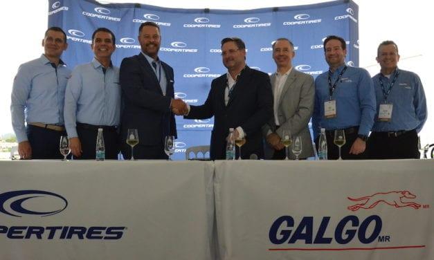 Cooper Tires y Galgo se unen a favor del autotransporte