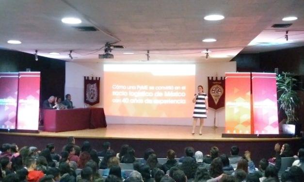 #HazLogística de Estafeta se vincula con universitarios y emprendedores