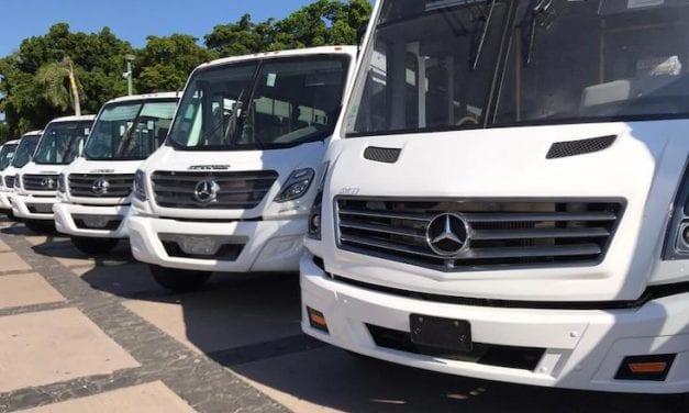 30 unidades Mercedes-Benz más para Sinaloa