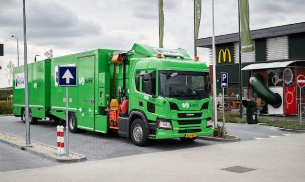 Camiones híbridos de Scania mejoran la cadena logística