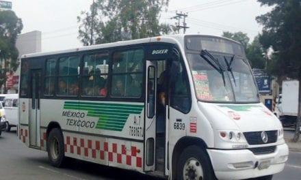 Edomex completará regularización del transporte en 2020
