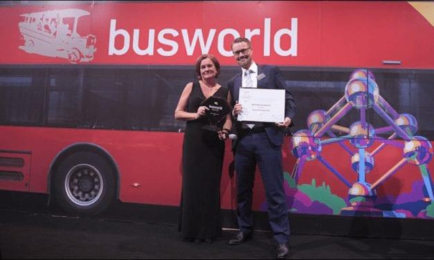 Volvo 9900 obtiene el premio Grand Award Coach