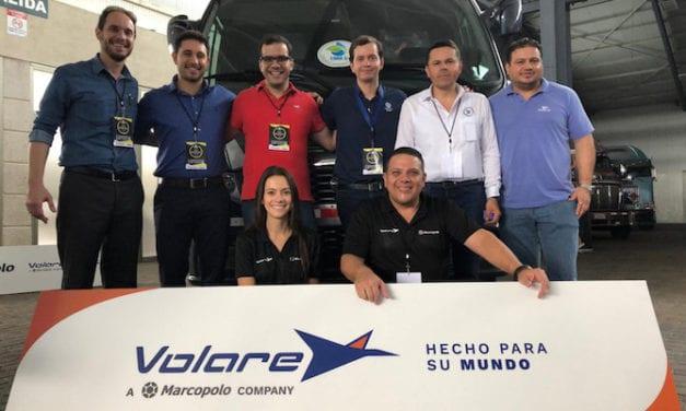Presenta Volare nuevos autobuses en CR