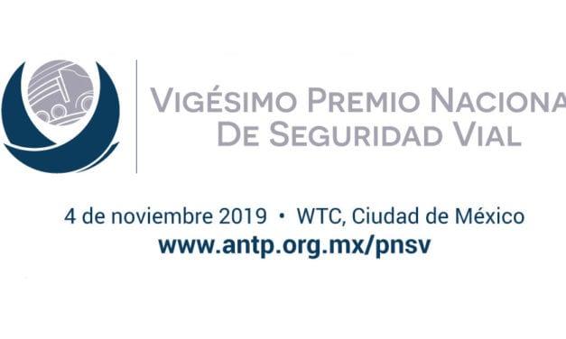 Alista ANTP Premio Nacional de Seguridad Vial