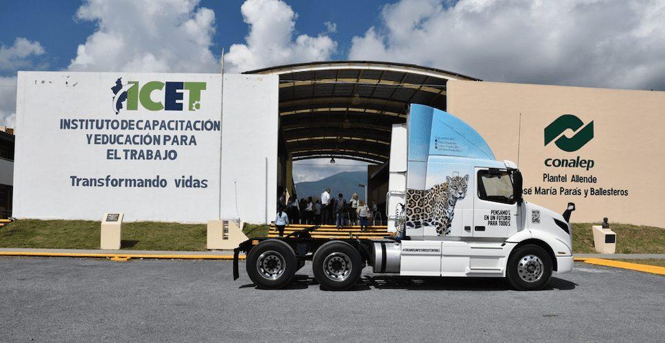 Máxima tecnología Volvo para Conalep Allende-Magazzine del Transporte