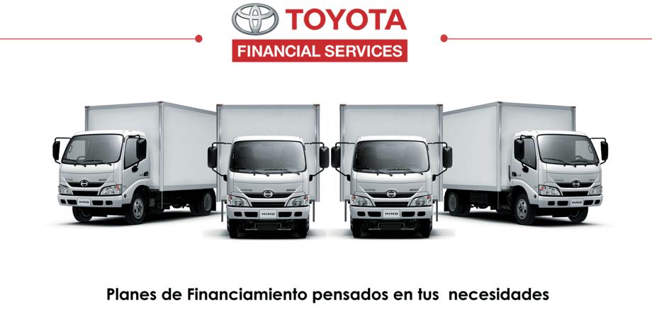 Impulsa Toyota Financial a clientes Hino