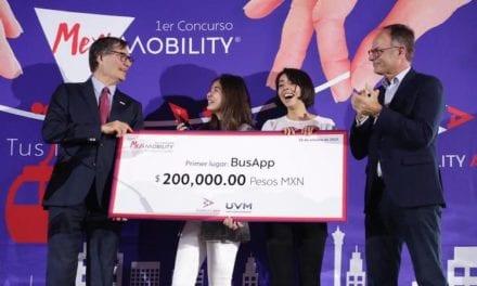 Premiación del reto MexiMobility ADO