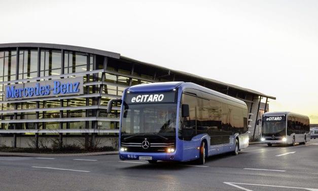 Marca Mercedes-Benz récord en autobuses Citaro