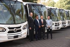 30 autobuses Volkswagen para Enlaces AMZ-Magazzine del Transporte