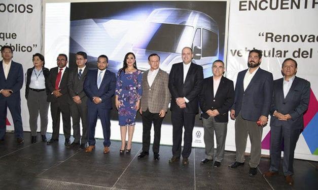 Impulsan ANPACT y Edomex renovación del transporte público