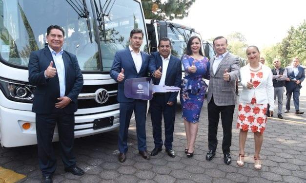 30 autobuses Volkswagen para Enlaces AMZ