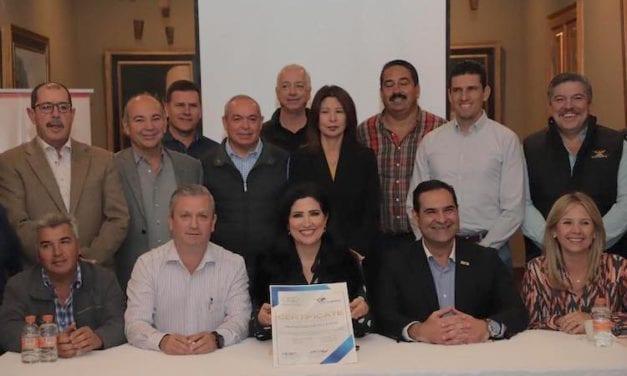 Municipio de Allende tiene la 1er Certificación en Logística Justa