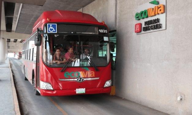 Aumentan seguridad en el sistema Ecovía