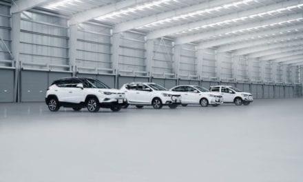 Familia de vehículos eléctricos JAC en México