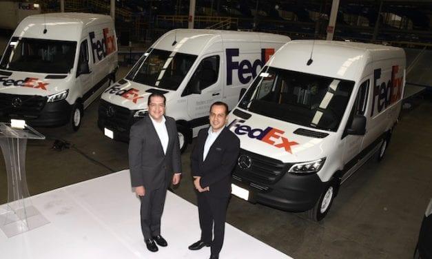 494 nuevos vehículos aumentan flota FedEx
