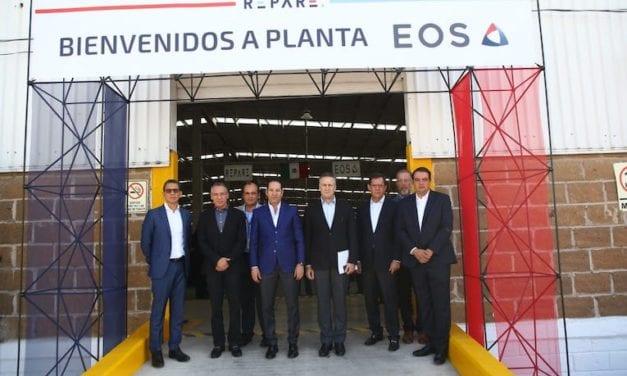 FEMSA inaugura la planta EOS REPARE
