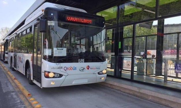 En marcha la Ruta E03 del Qrobús