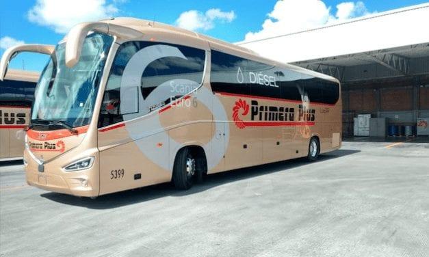 Coloca Scania autobuses con motores XPI Euro 6 diesel