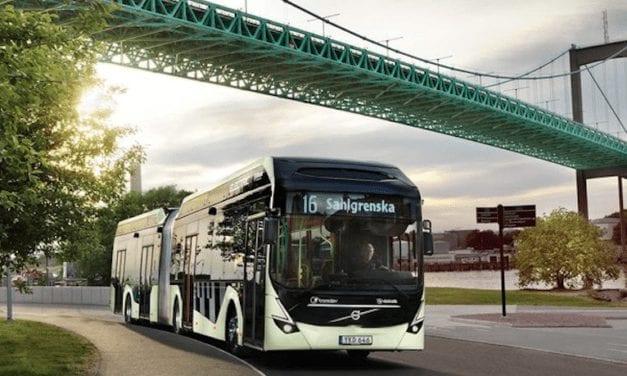 Entregará Volvo 157 autobuses eléctricos