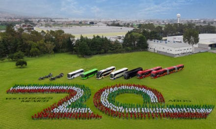 Enfila Volvo Buses a su año más exitoso de ventas