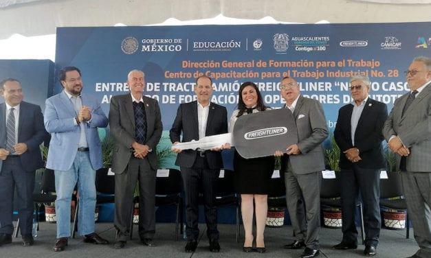Llega Nuevo Cascadia 2020 a CECATI de Aguascalientes