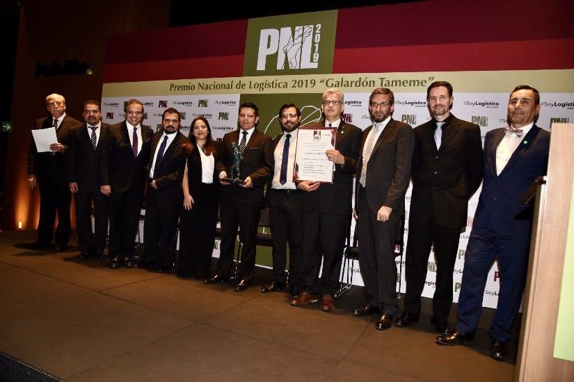 8 ganadores del Premio Nacional de Logística 2019