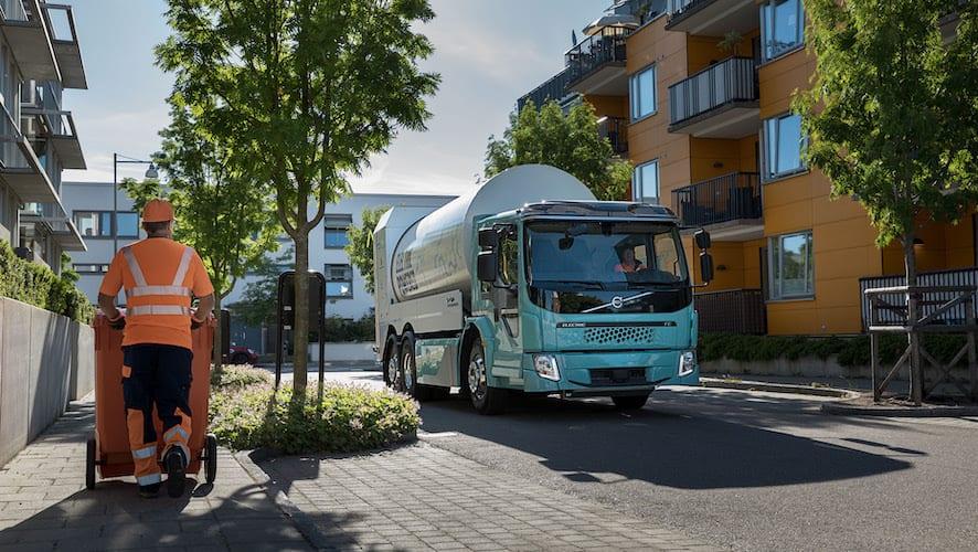 A la venta los camiones eléctricos Volvo