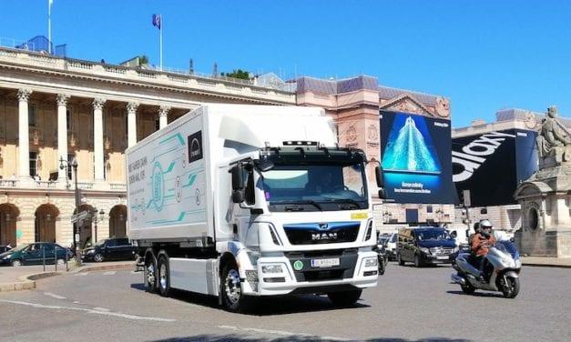 Arranca MAN producción de camiones eléctricos
