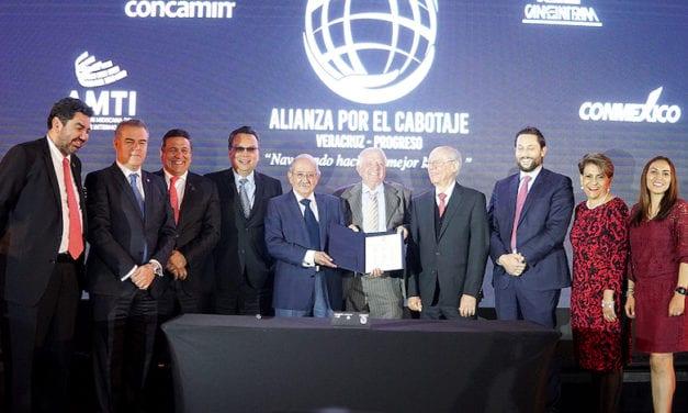 Pactan Alianza por el Cabotaje