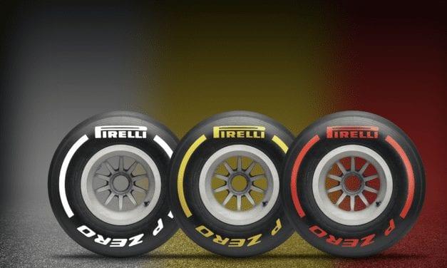 Listos neumáticos Pirelli para F1 2020