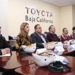 Destacan fuerza laboral de la planta de Toyota