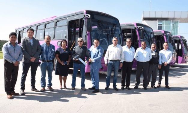 CE4 adquiere autobuses Volvo para la CDMX