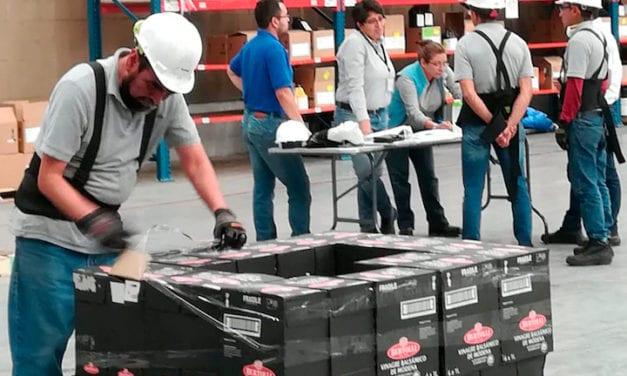 Certifican preparación y aseguramiento de la carga