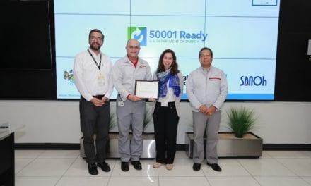 Nissan Mexicana reconocida por su eficiencia energética