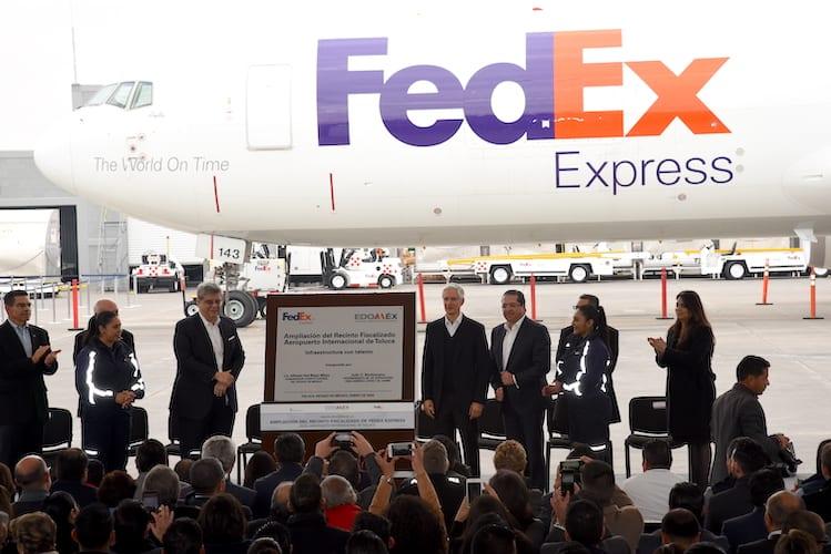 Expande FedEx operaciones en Aeropuerto de Toluca