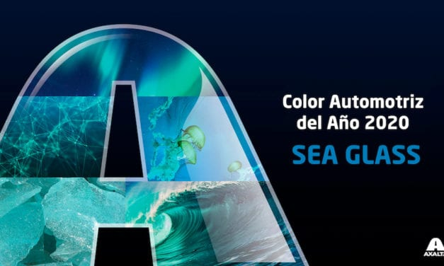 Sea Glass, Color Automotriz 2020 de Axalta