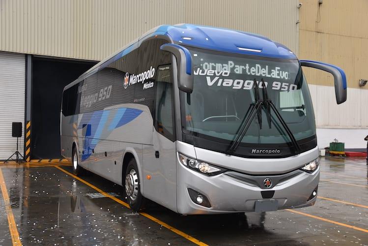 Lanza Marcopolo México el Viaggio 950