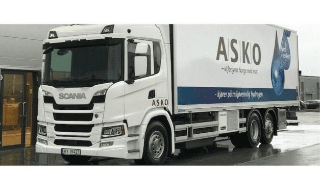 En marcha, camiones eléctricos Scania a hidrógeno
