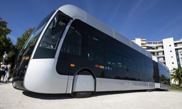 En Francia, primer sistema BRT 100% a hidrógeno