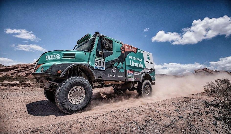 Es Goodyear proveedor del Rally Dakar 2020