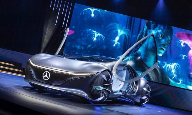 Mercedes-Benz presenta auto inspirado en Avatar: VISION AVTR