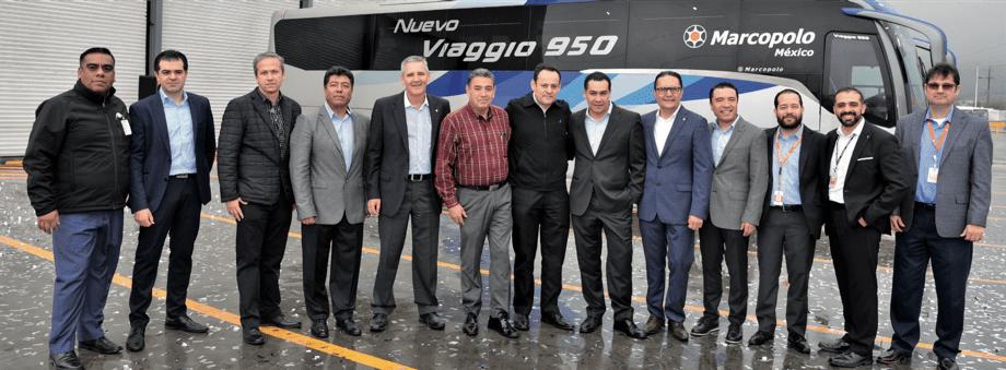 Marcopolo México lanza el Viaggio 950-Magazzine del Transporte