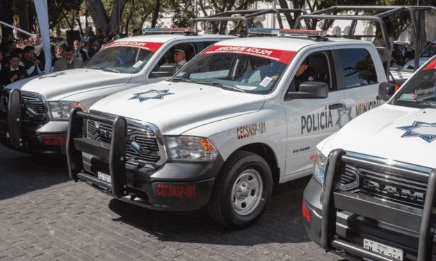 Estrena Puebla 37 patrullas
