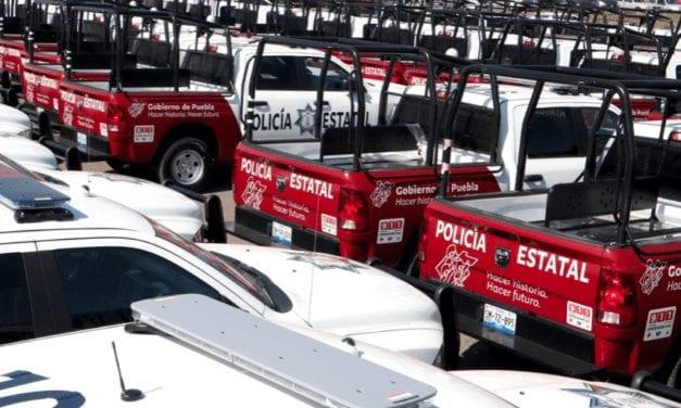 Completa Puebla adquisición de mil patrullas