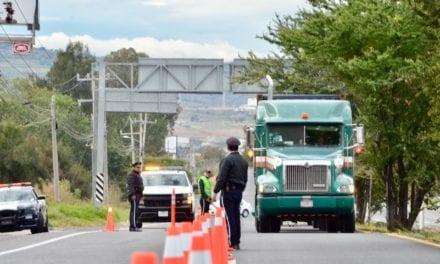 Inician restricciones al autotransporte de carga en AMG