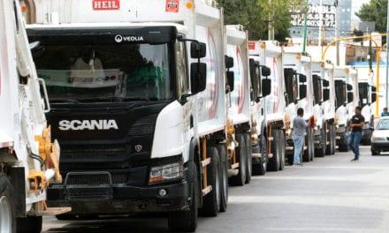 Veolia estrena 20 camiones Scania en Chiapas