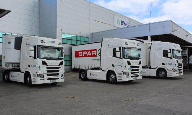 SPAR nombra a Scania Proveedor del año